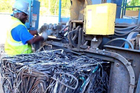 Processing scrap metal
