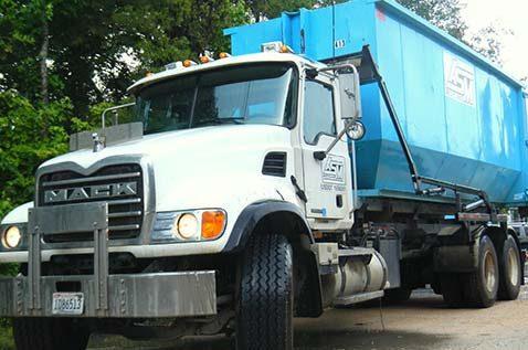 ASM Recycling, Inc., truck