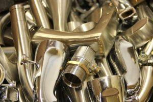 Pile Of Brass Scrap Pieces